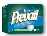 "First Quality Adult Diapers (Prevail) - Moderate Protection - Medium White (Fits 32""-44"" Inch Waist)"